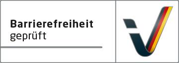 """Kennzeichnung """"Barrierefreiheit geprüft"""""""