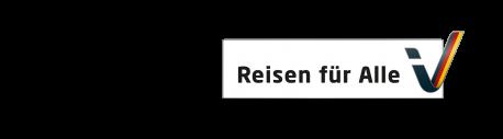 Reisen für Alle barrierefreie hotel  Zertifizierung Logo