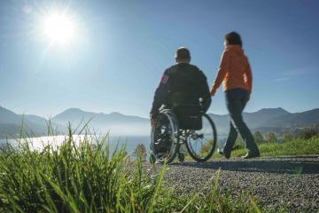 Behindertengerechte Hotels am Tegernsee mit spaziergang buchen