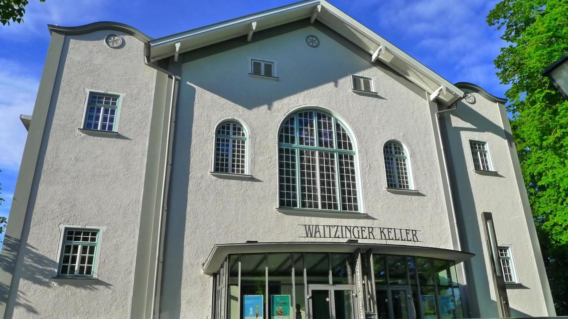 Außenansicht Waitzinger Keller Kulturzentrum Miesbach
