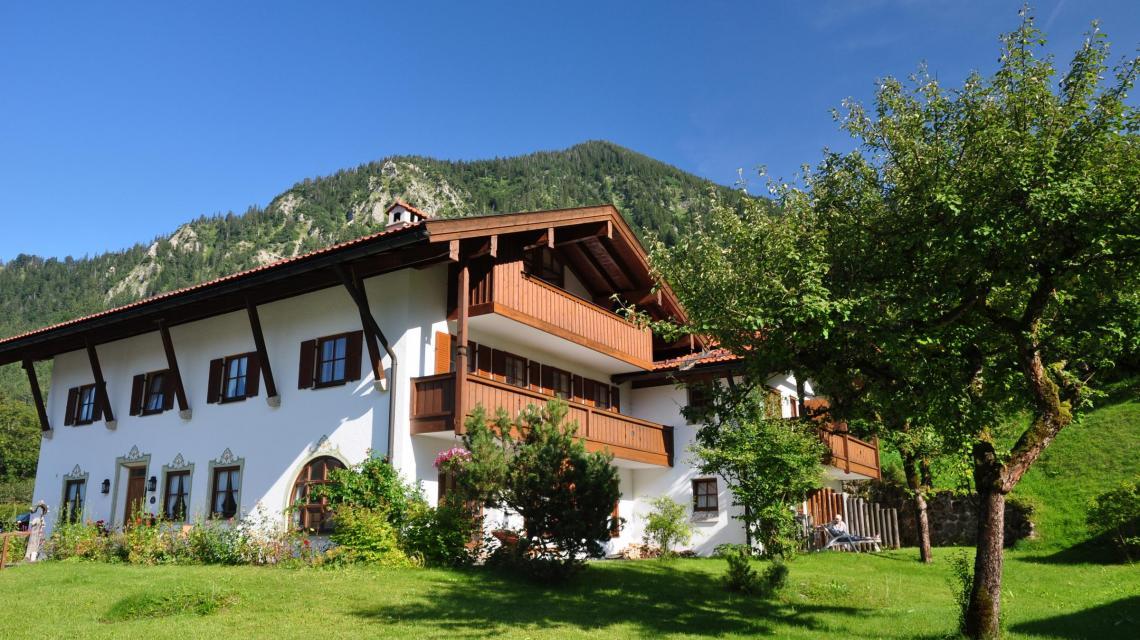 Außenansicht Gästehaus Gritscher