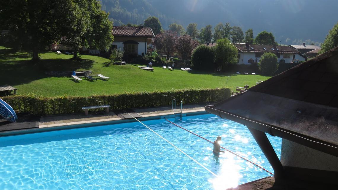 Schwimmbecken Alpenfreibad