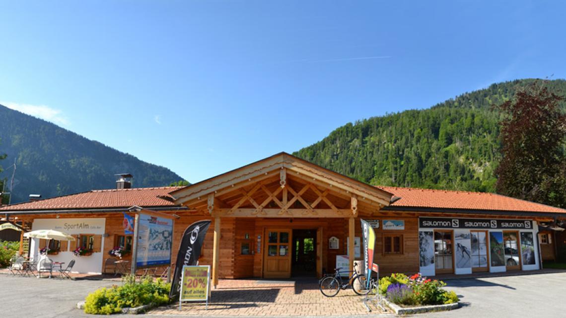 Außenansicht Sport Alm Restaurant
