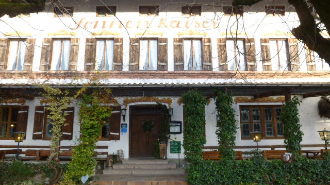 Außenansicht Gasthof Sonnenkaiser