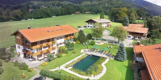 Luftbild Gästehaus Ludwig-Thoma