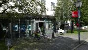 Außenansicht Eingangsbereicht Tourist-Information Waitzinger Keller