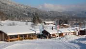Außenaufnahme Skischule