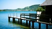 Ansicht Steg und See